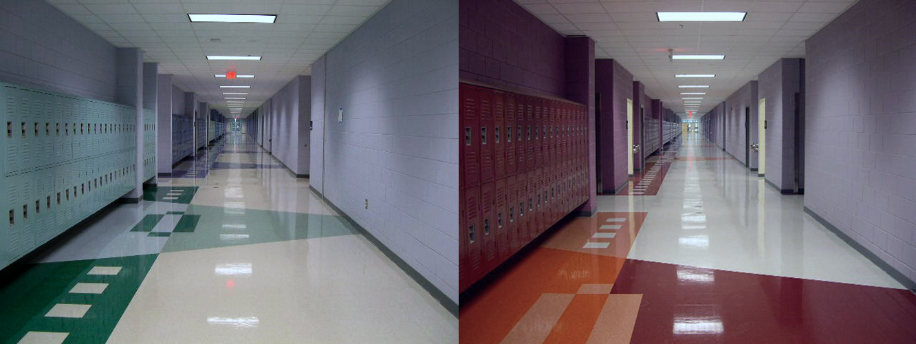 south pointe high school: rock hill, sc | freespace design